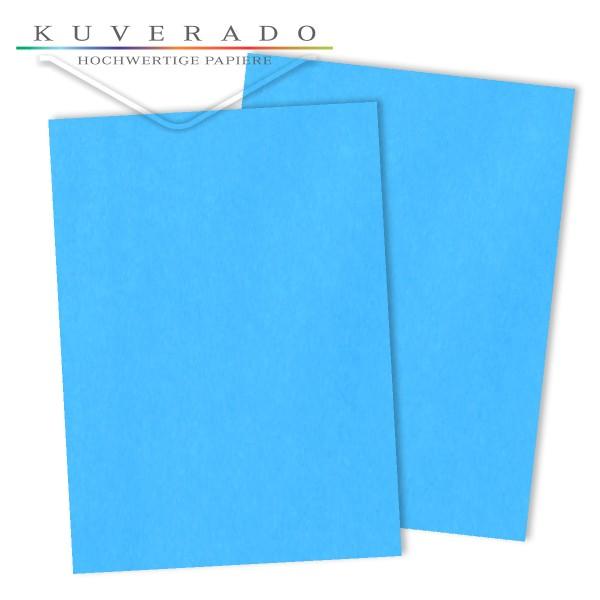 Briefpapier in ozeanblau 120 g/qm