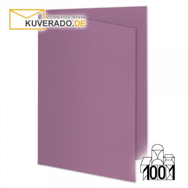 Artoz 1001 Faltkarten holunder DIN E6 mit Wasserzeichen