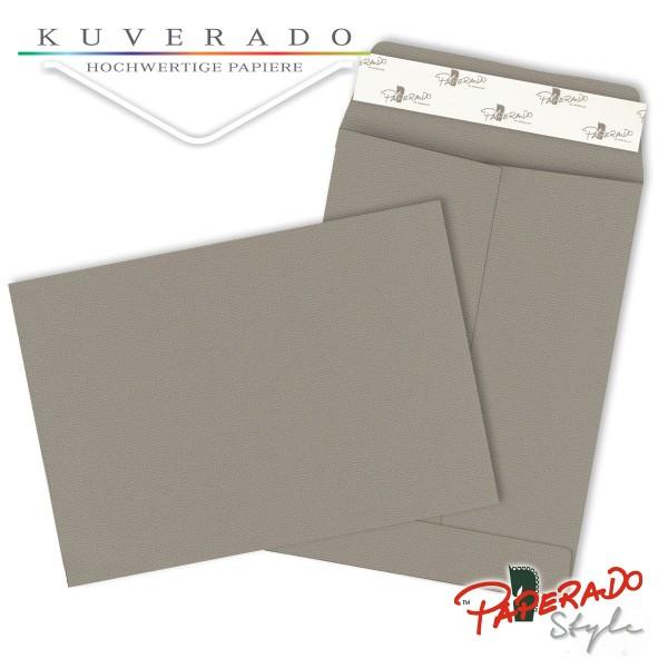 Paperado Style Briefumschläge taupe grau 134x184 mm