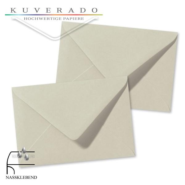 Graue Briefumschläge (Delfingrau) im Format 120 x 180 mm