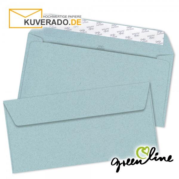 ARTOZ Greenline pastell | Recycling Briefumschläge in misty-blue DIN lang