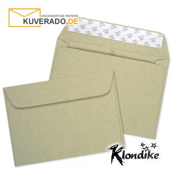 Artoz Klondike Briefumschlag in blattgold-metallic DIN C6