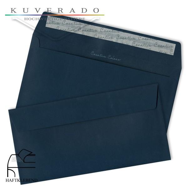 dunkelblaue Briefumschläge DIN C6/5