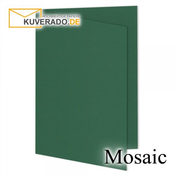 Artoz Mosaic tannengrün Doppelkarten DIN A5