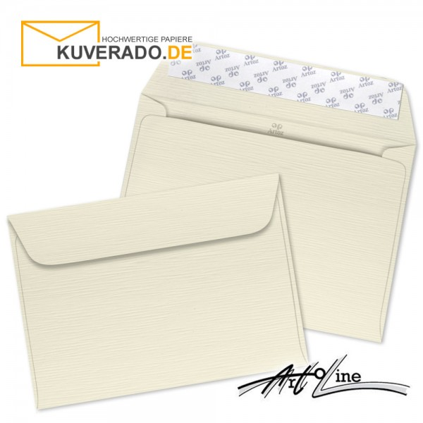 Artoz Artoline Briefumschlag in zabaione-beige DIN C6