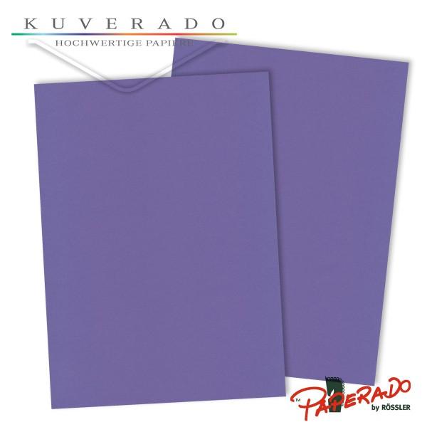 Paperado Briefkarton in lila DIN A4 220 g/qm