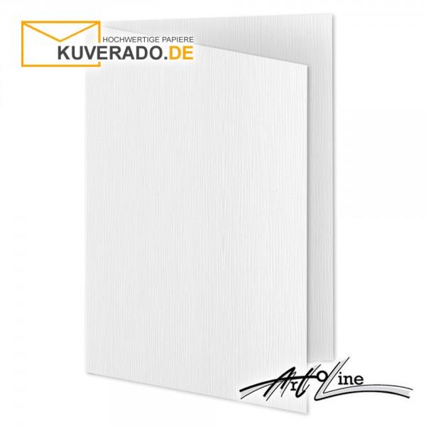 Artoz Artoline Karten/Doppelkarten in weiß DIN B6