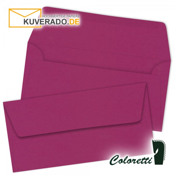 Amarena lila DIN lang Briefumschläge von Coloretti