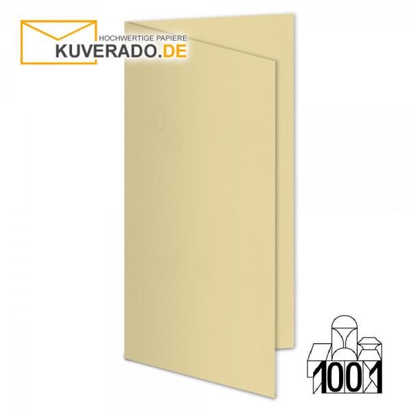 Artoz 1001 Faltkarten baileys beige DIN lang Hochformat mit Wasserzeichen