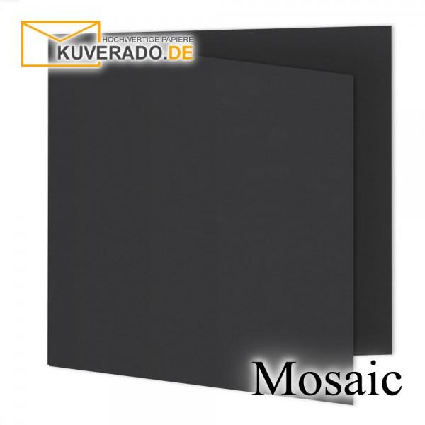 Artoz Mosaic schwarze Doppelkarten quadratisch
