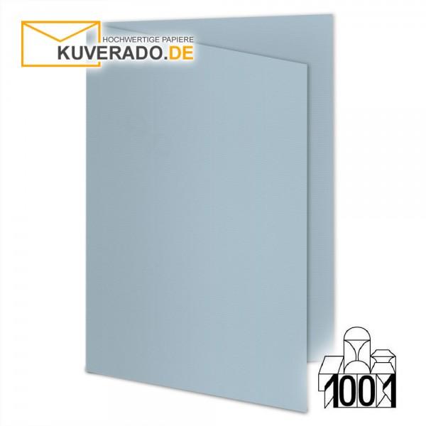 Artoz 1001 Faltkarten pastellblau DIN A5 mit Wasserzeichen