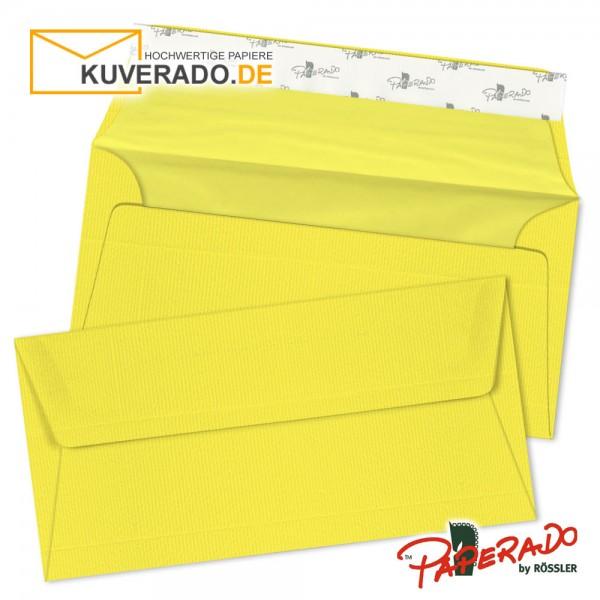 Paperado - Gelbe Briefumschläge im Format DIN lang