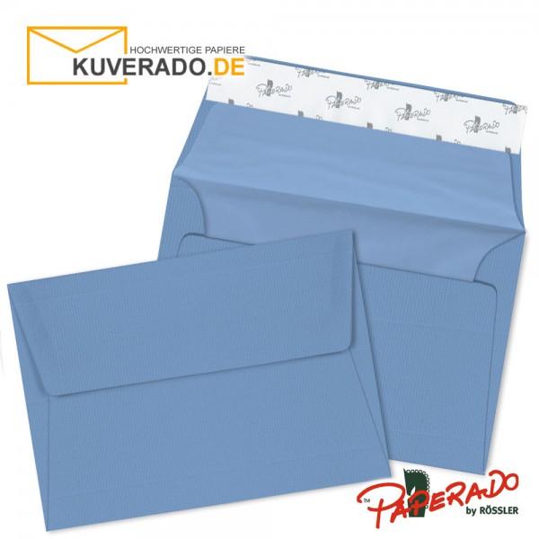 Paperado Briefumschläge blau B6
