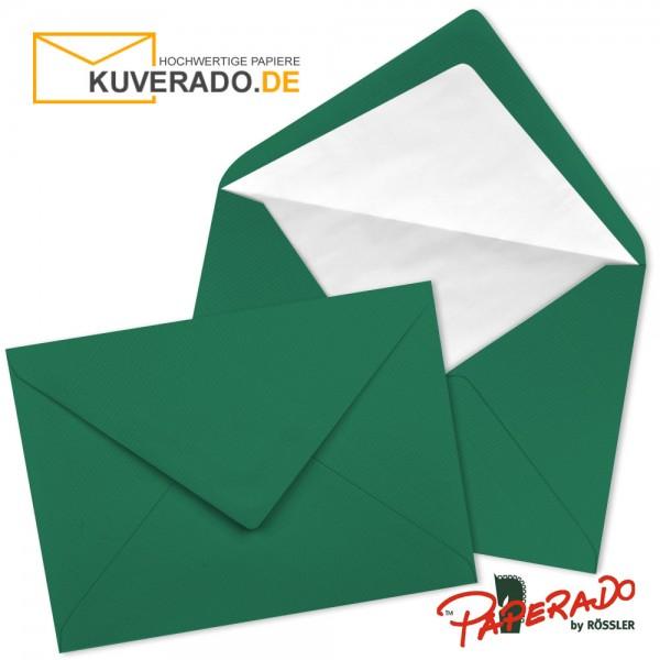 PAPERADO - Briefumschläge in tannengrün DIN C6 nassklebend