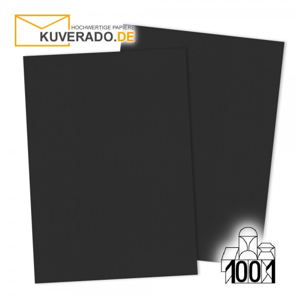 Artoz 1001 Einlegekarten schwarz DIN A6