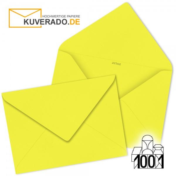 Artoz 1001 Briefumschläge maisgelb 75x110 mm
