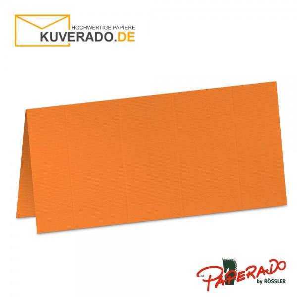 Paperado Tischkarten in orange