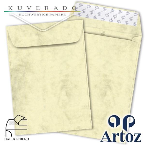 Artoz Antiqua marmorierte Briefumschläge chamois DIN C4
