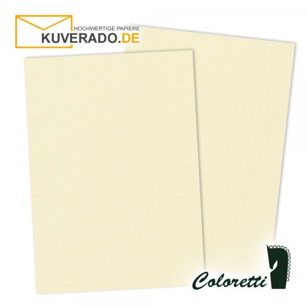 Beiges Briefpapier in creme 165 g/qm von Coloretti