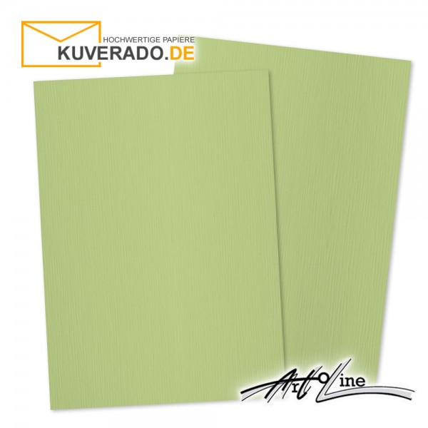 Artoz Artoline Briefpapier/Tonkarton in pistache-grün DIN A4