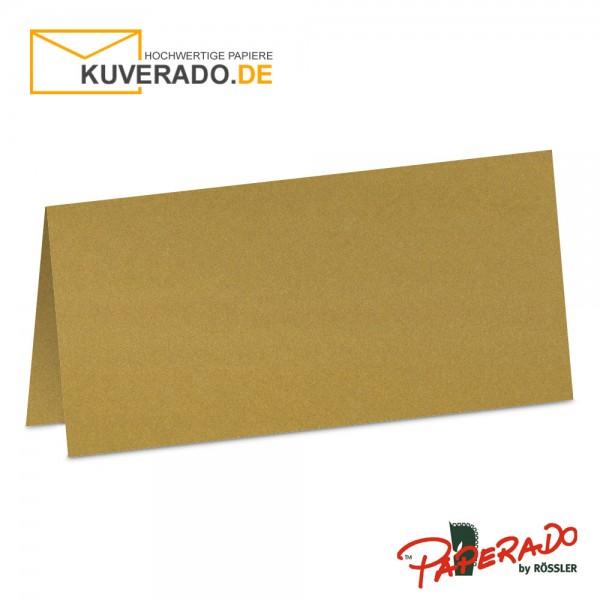 Paperado Tischkarten in gold metallic