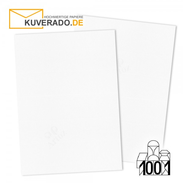 Artoz 1001 Briefpapier blütenweiß DIN A4 mit Wasserzeichen