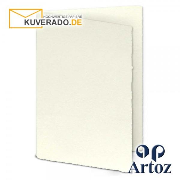 ARTOZ Rondo - Faltkarten aus Büttenpapier im Format DIN B6