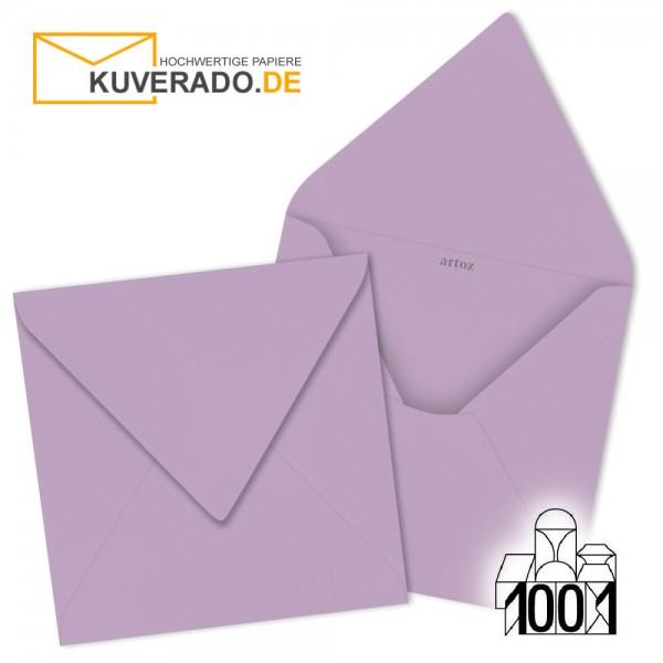 Artoz 1001 Briefumschläge flieder quadratisch 135x135 mm
