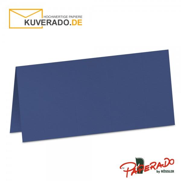 Paperado Tischkarten in jeansblau