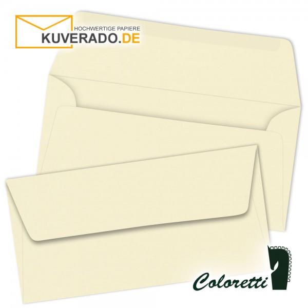 Creme-beige DIN lang Briefumschläge von Coloretti