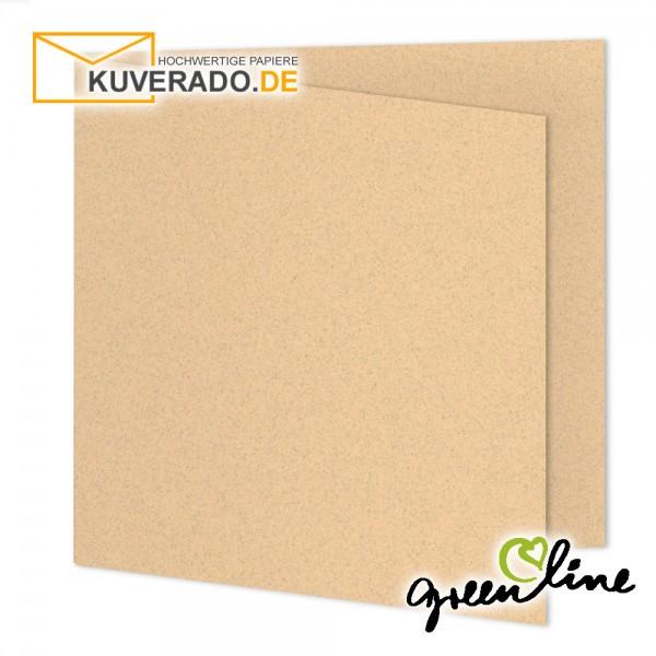 ARTOZ Greenline pastell | Recycling Faltkarten in misty-melon quadratisch