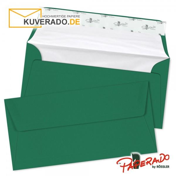 Paperado Briefumschläge tannengrün DIN lang