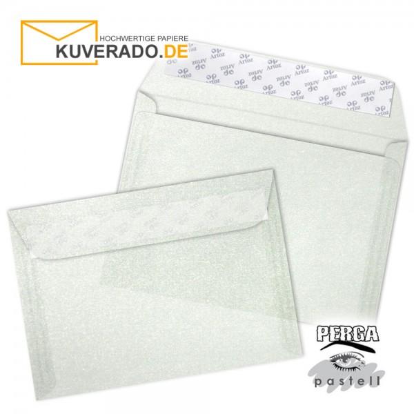 Artoz transparente Briefumschläge silber DIN B6