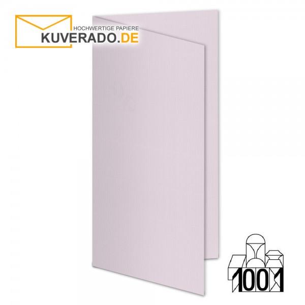 Artoz 1001 Faltkarten quarzrosa DIN lang Hochformat mit Wasserzeichen