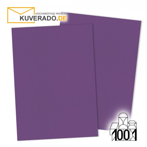 Artoz 1001 Einlegekarten violett DIN A7