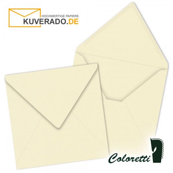 Beige Briefumschläge in creme quadratisch von Coloretti