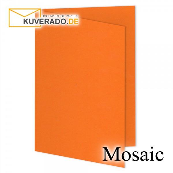 Artoz Mosaic neon-orange Doppelkarten DIN A6