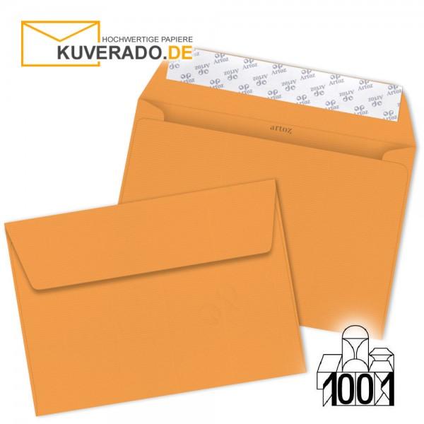 Artoz Briefumschläge mango-orange DIN C4