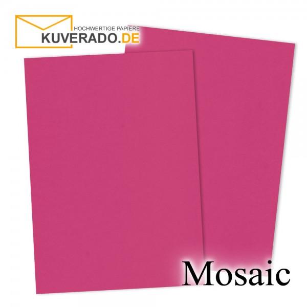 Artoz Mosaic neon pink Briefkarton DIN A4