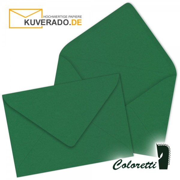 Grüne DIN B6 Briefumschläge in forest von Coloretti
