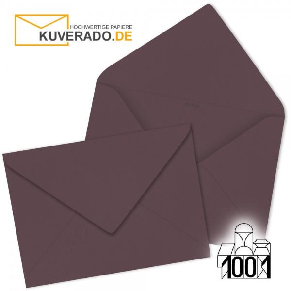 Artoz Briefumschläge dunkelrot DIN B6