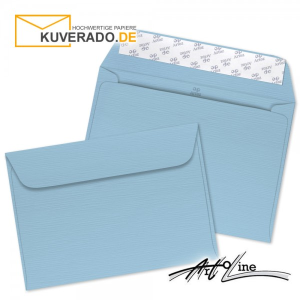 Artoz Artoline Briefumschlag in sky-blau DIN C6
