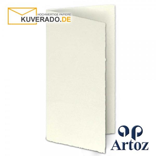 ARTOZ Rondo - Faltkarten aus Büttenpapier im Format DIN lang