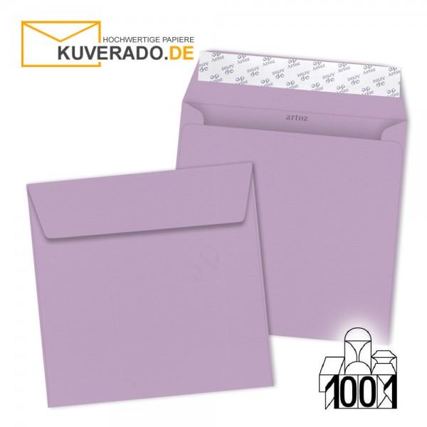 Artoz 1001 Briefumschläge flieder quadratisch 160x160 mm