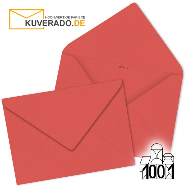 Artoz Briefumschläge wassermelon-farbig 75x110 mm