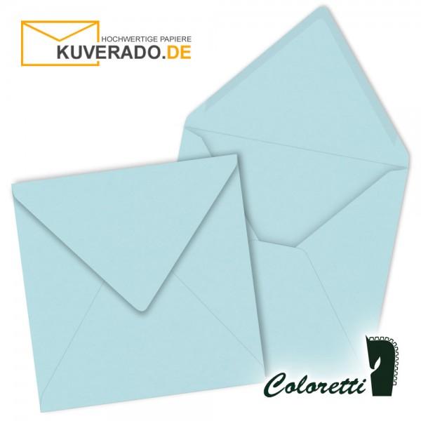 Himmelblaue Briefumschläge in quadratisch von Coloretti