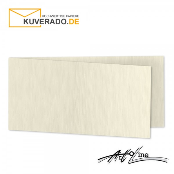 Artoz Artoline Karten/Doppelkarten in zabaione-beige DIN lang