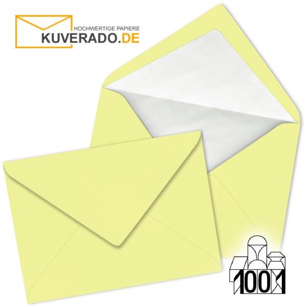Artoz 1001 Briefumschläge citro-gelb DIN C6