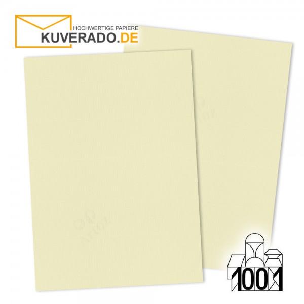 Artoz 1001 Briefkarton chamois DIN A4 mit Wasserzeichen