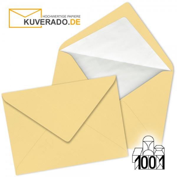 Artoz 1001 Briefumschläge honiggelb DIN C6